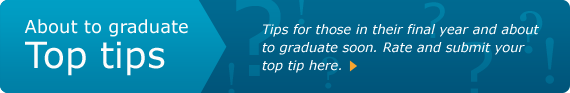 Dental graduate top tips